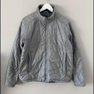 The north face light weight puffer jacket large